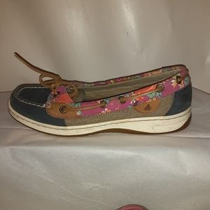 SPERRY  TOPSIDERS Women's Floral and Canvas